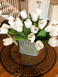 14'' Silk with Real Touch Tulip Bouquet