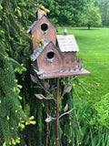 Iron Carriage Bird House