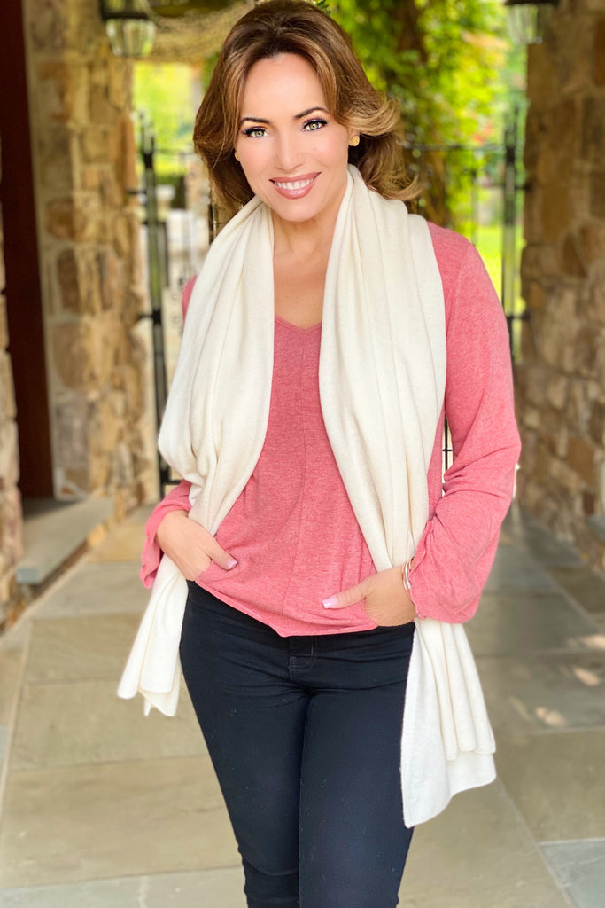 Pure Cashmere Grand Scale Scarf