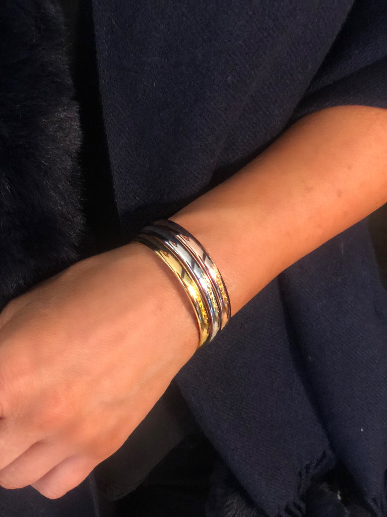Italian Perfect Stacking Cuff Bracelet