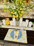 Lemon Linen Napkins
