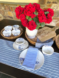 Set of 3 Woven Natural Trays