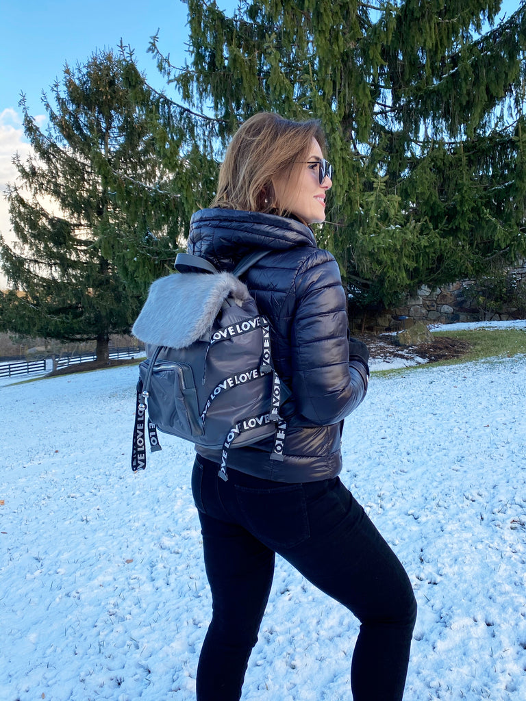 "Après-Ski ""Love"" Backpack"