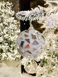 Silver Mirrored Shatterproof Ornaments