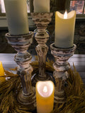 Outdoor 3D Flameless Candles (Set of 2)