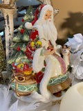 Victorian Harvest Santa Cookie Jar