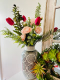 Signature Floral Collection: Tulips, Ranunculus, and Greenery Custom Bouquet