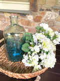Coastal Ombré Glass Vase