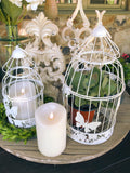 Decorative Birdcages with Butterflies