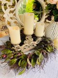 Triple Plate Candle Holder