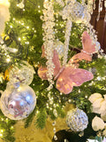 Large Crystal Rock Candy Drop Ornaments
