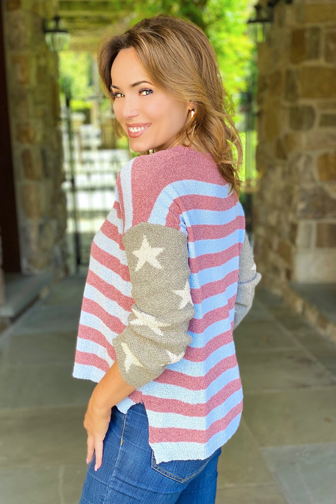 The New American Flag Sweater