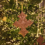 Set of 3 Large Cross Ornaments