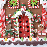 Candy Covered Lighted Gingerbread House