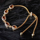 The Royal Colors of Gems Bracelet
