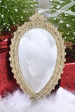 Gold Framed Mirror Ornaments