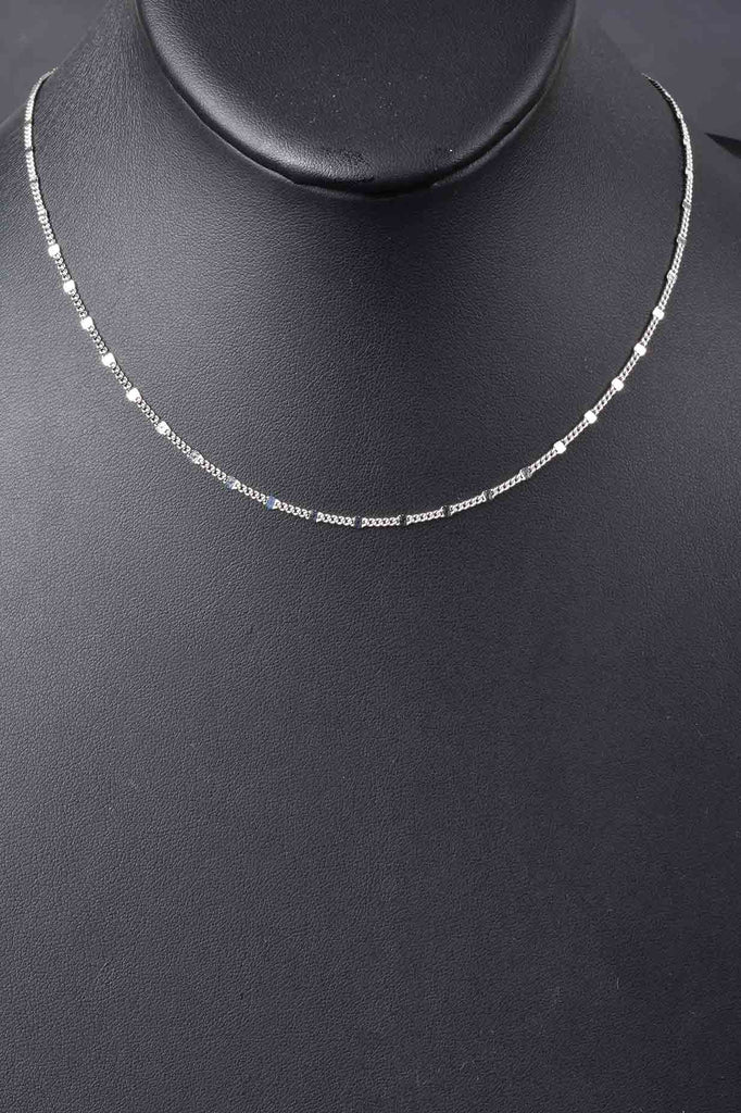 The Perfect Italian Sparkle Station Necklace