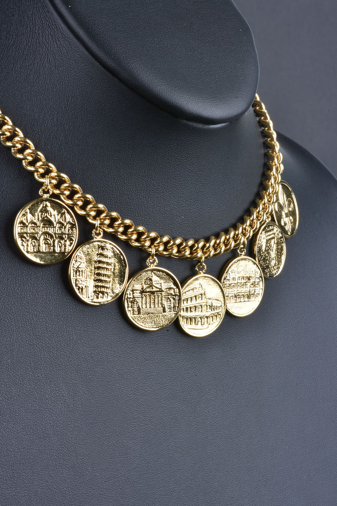 Cities Of Italy Charm Necklace