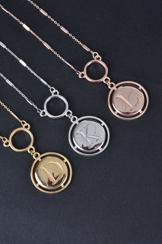 Italian Set of 2 Stronger Together Necklaces