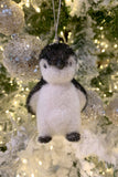 Snowy Penguin Ornaments