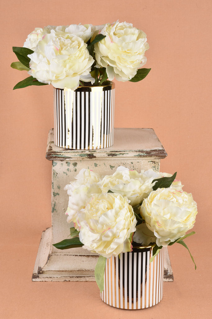 Peony Arrangement with Vase