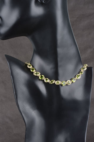 Giante Custom Finish Satin Bead Necklace