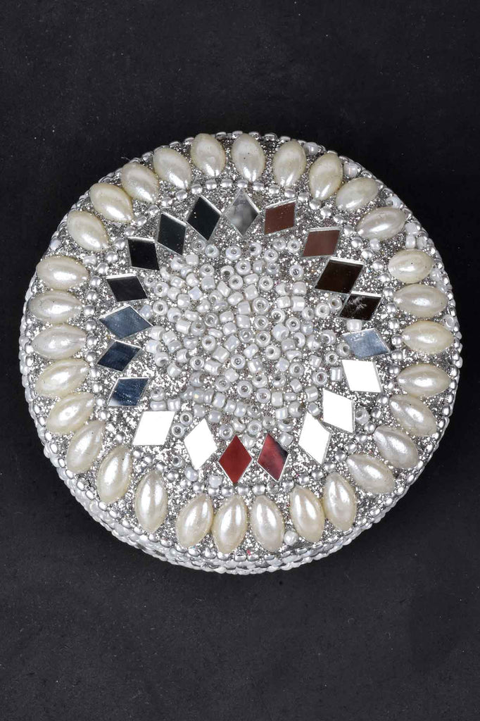 Set of 6 Jeweled Pill Boxes with Tray