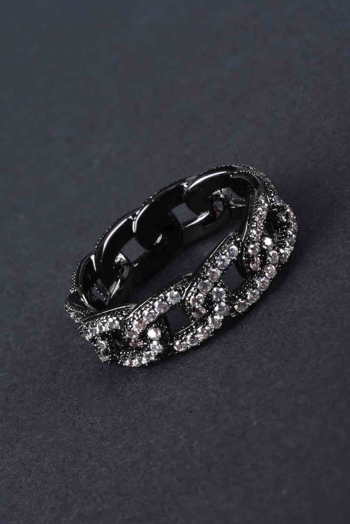 Couture Inspired Curb Link Ring