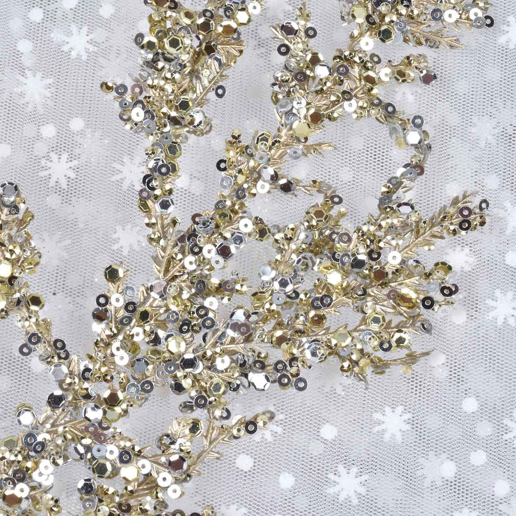 Set of 4 Sequin Sprays