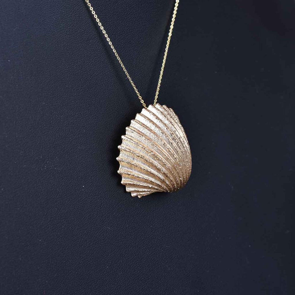 The Dreams of the Ocean Nautilus Shell Pendant