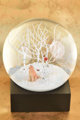 Partridge in a Pear Tree Snow Globe