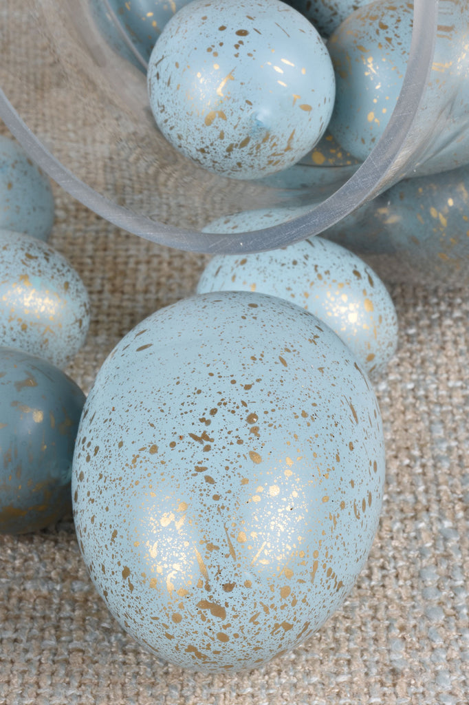 Large Gold Flecked Robins Eggs