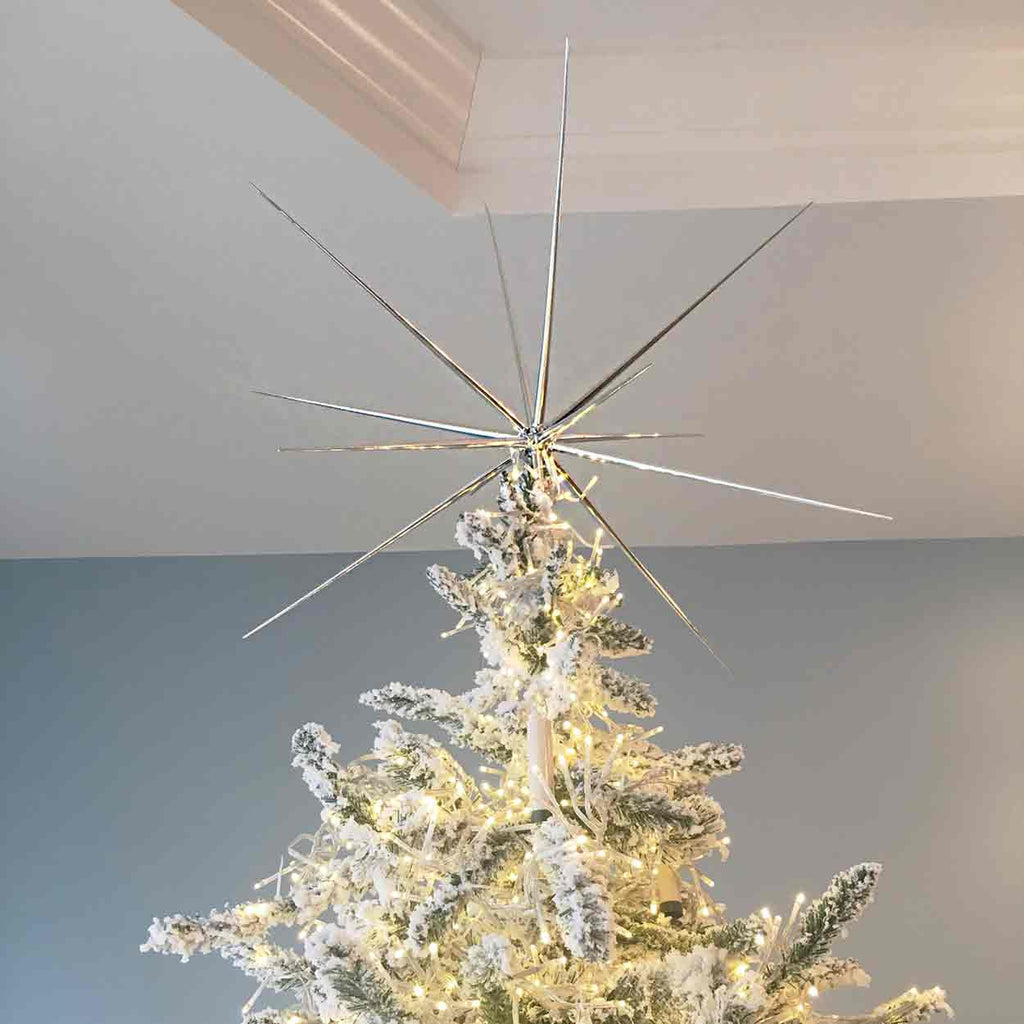 The Christmas Starburst Tree Topper or Ornaments