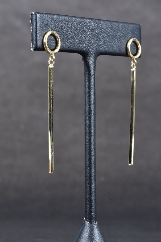 Italian Bar Dangle Earrings