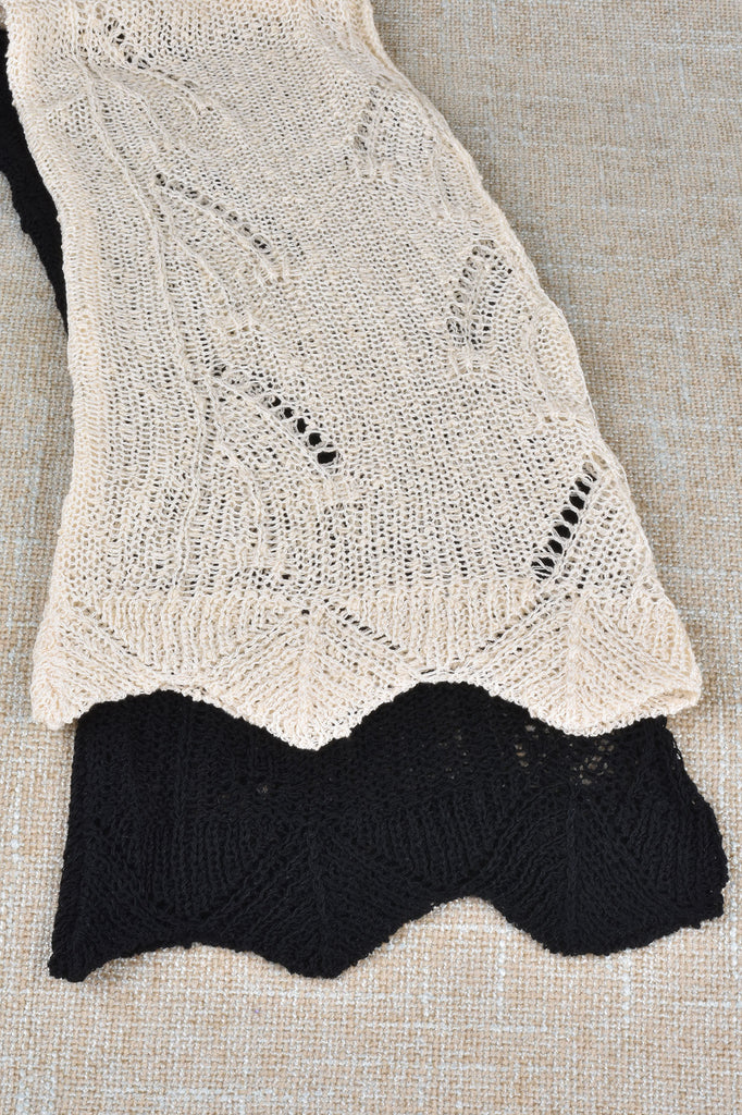 Look of Lace Stitch Sweater