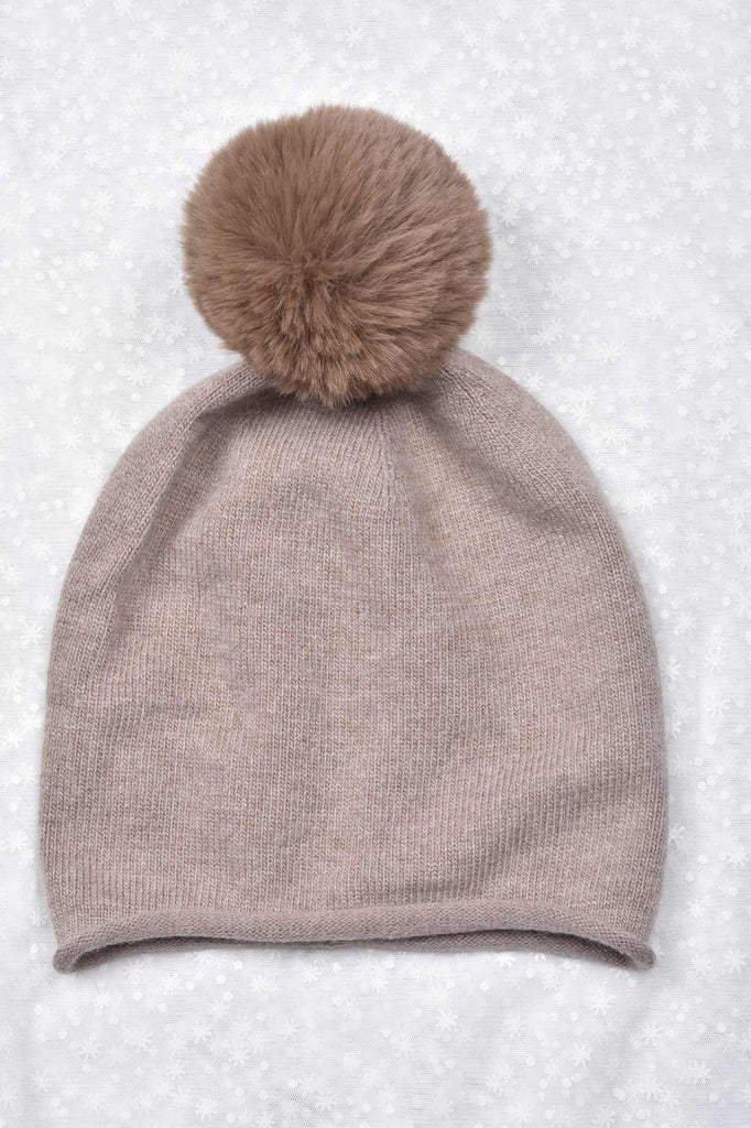 Cozy Hat with Pompom
