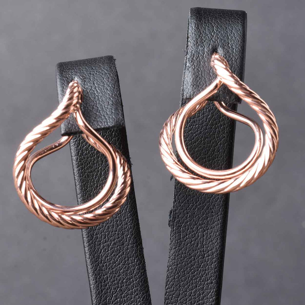 Perfect Double Loop Earrings