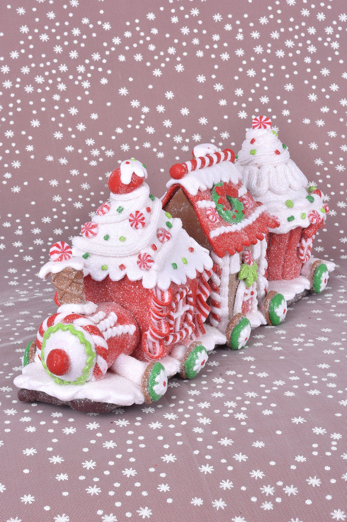 Candy Gingerbread Train