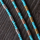 Turquoise T-Bar Necklace