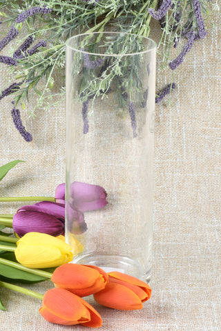 Large Recycled Glass Bottle Vase