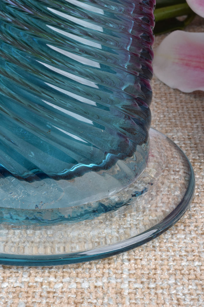 20'' Pulled Glass Vase