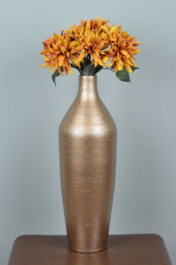 Tall Golden Vase