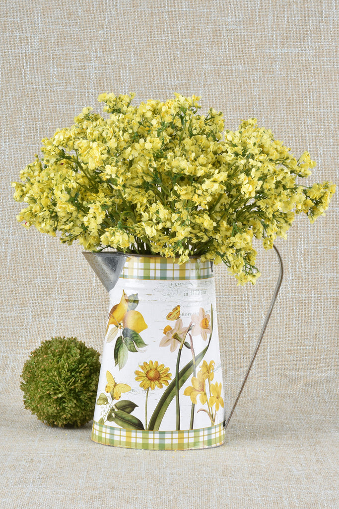 Vintage Summer Flower Pitcher