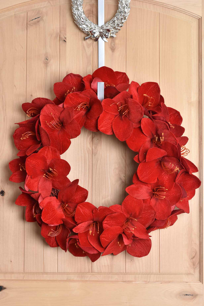 Amaryllis Wreath