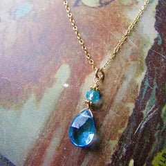 Small Briolette Necklace