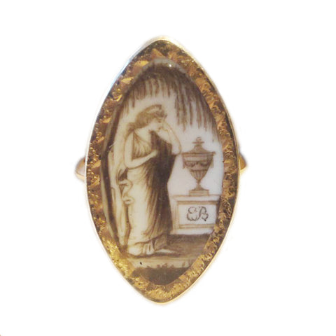 40% Off! Georgian Memorial Ring