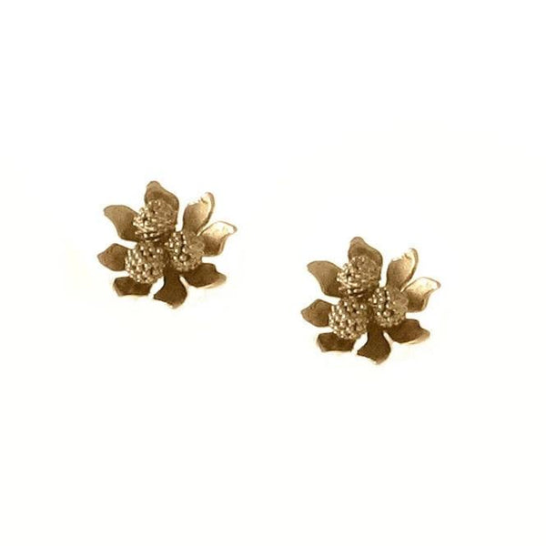 Blossom Post Earring Gold Vermeil