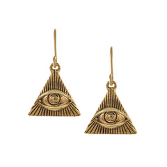 Eye Of Knowledge Earrings