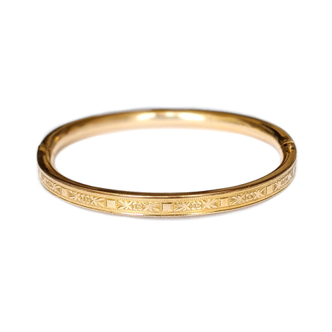 Gold Fill Baby Bangle