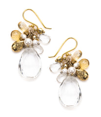 Large Gem & Briolette Bundle Earring